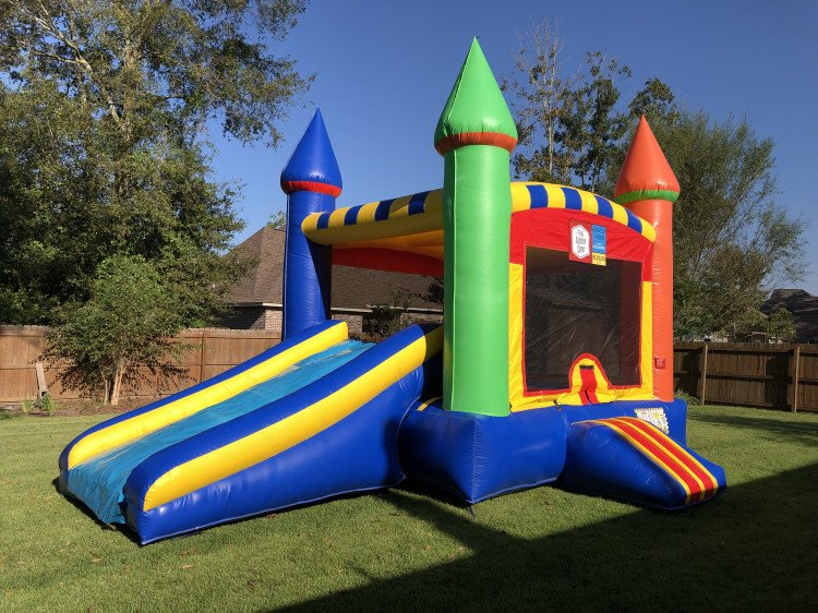 Dry Slide Bounce House Combos